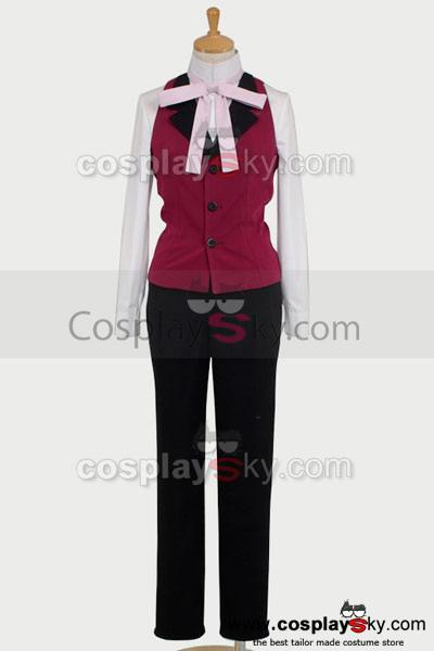 Black Butler Shinigami Grell Sutcliff Cosplay Costume