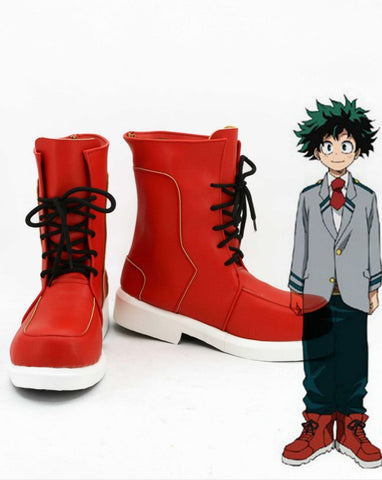 Boku no Hero Academia My Hero Academia Izuku Deku Cosplay Shoes Boots Custom Made