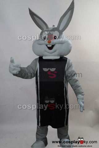 Bugs Bunny Rabbit Cartoon Mascot Costume Adult Size