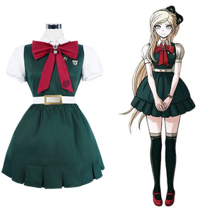 Sonia Nevermind School Uniform Dress Outfit Halloween Carnival Suit Super Danganronpa 2: Goodbye Desperate Academy Cosplay Costume