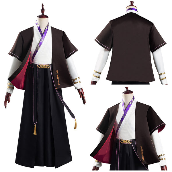 Lang Lin Wang Hanfu Coat Pants Outfits Halloween Carnival Suit Fate/Grand Order FGO Cosplay Costume