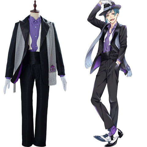 Floyd Leech Uniform Twisted Wonderland Cosplay Costume
