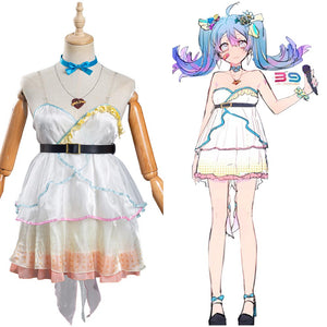 Ai Kotoba Women Dress Outfits Halloween Carnival Suit VOCALOID Hatsune Miku Cosplay Costume