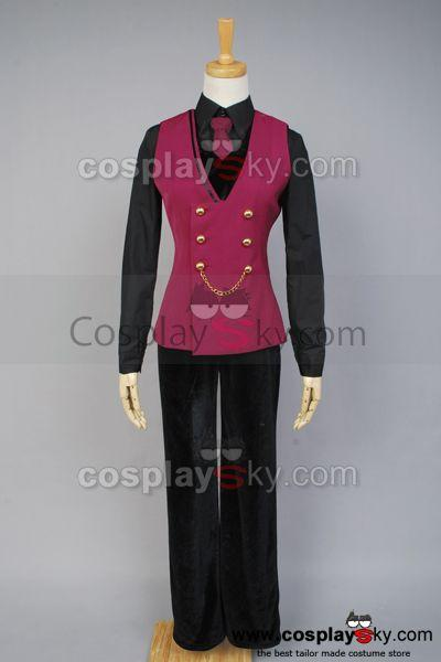 DIABOLIK LOVERS Sakamaki Reiji Cosplay Costume