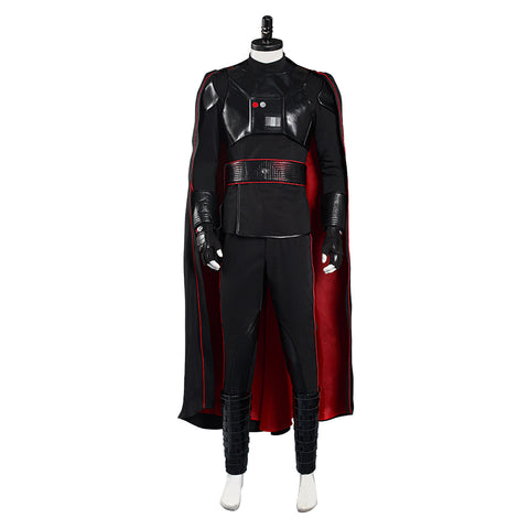 Moff Gideon Cloack Vest Halloween Carnival Suit Star Wars The Mandalorian Cosplay Costume