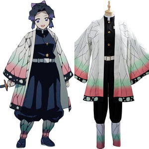 Demon Slayer Kochou Shinobu Cosplay Costume