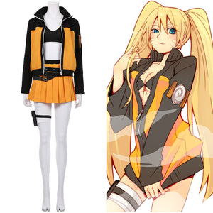Naruto Uzumaki Women Dress Outfits Halloween Carnival Suit NARUTO Cosplay Costume