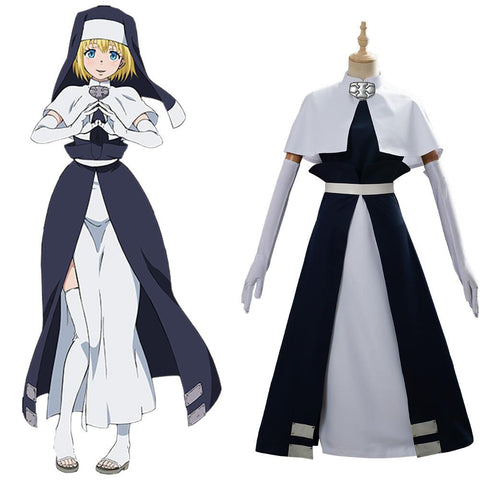 Fire Force Iris Nun Cosplay Costume