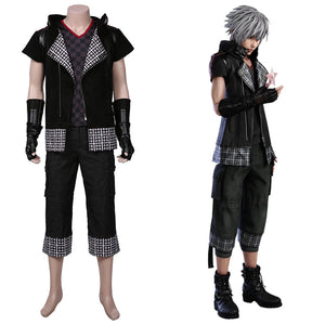 yozora Men Coat Outffits Halloween Carnival Suit Kingdom Hearts III Cosplay Costume