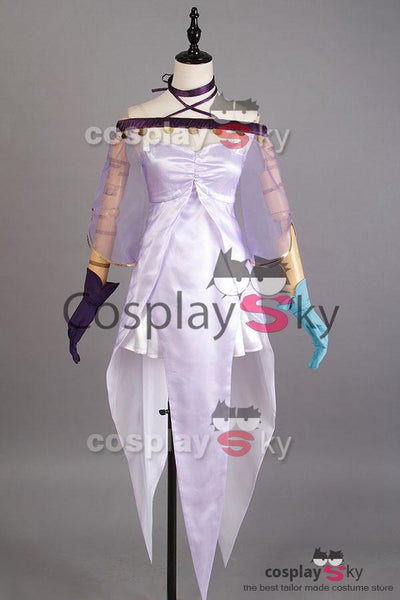 Fate Grand Order Caster Lily Medea Dress Cosplay Costume