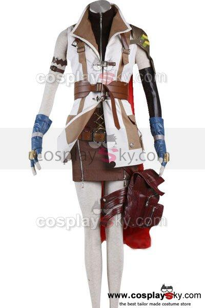 Final Fantasy XIII FF 13 Lightning Cosplay Costume