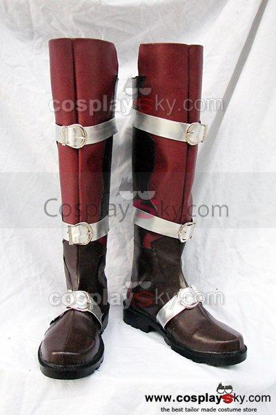 Final Fantasy XIII Lightning Cosplay Boots Custom Made