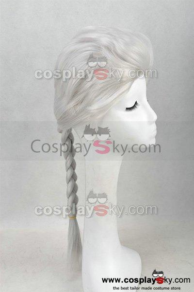Frozen Snow Queen Elsa Cosplay Wig
