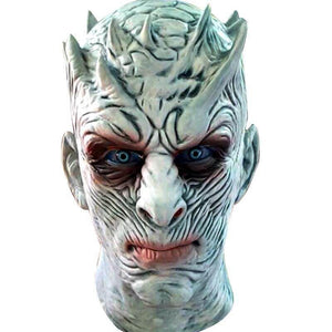 Game of Thrones Season 7 Night King White Walkers Mask Cosplay Props