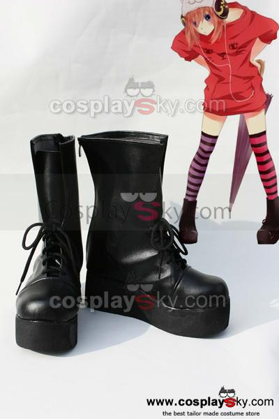 Gintama Kagura Cosplay  Boots Shoes