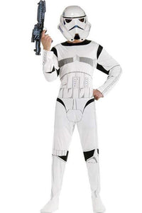 Star Wars Kids Costume Stormtrooper Child Outfit Costume+mask