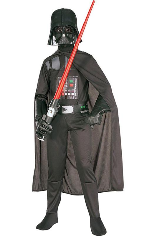 Star Wars Darth Vader Kids Costume Outfit Halloween Cosplay