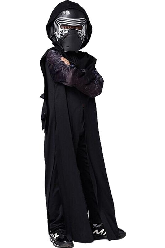 Toddler Star Wars Kylo Ren Outfit Cosplay Costume For Kids Children