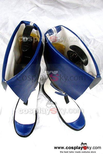 GuiltyGear KY Kiske Cosplay Boots Shoes Custom Made