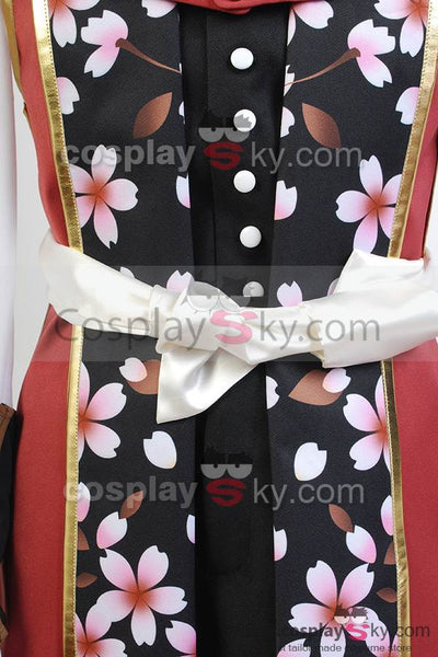 Haku?ki Chizuru Yukimura Swordman Uniform Cosplay Costume