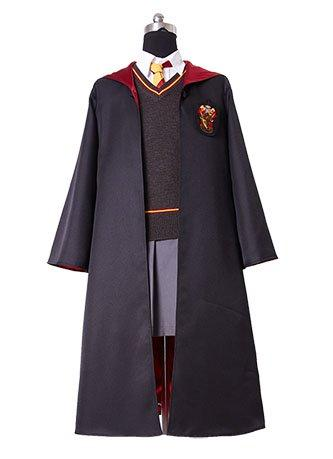 Harry Potter Hermione Granger Dress Costume Hogwarts Gryffindor Uniform for kids children