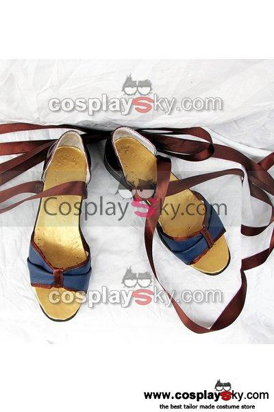Harukanaru Toki no Naka de 4 Cosplay Blue Shoes