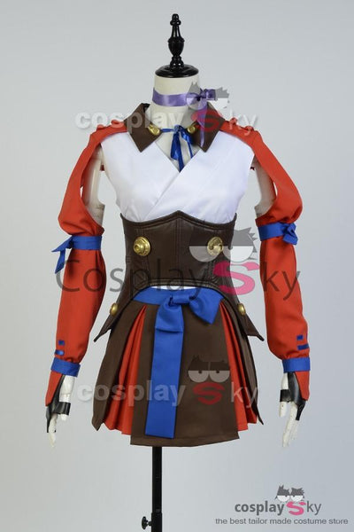 Kabaneri of the Iron Fortress Mumei Battle Suit Cosplay Costume