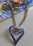 Kingdom Hearts Sora Heart Pendant Necklace