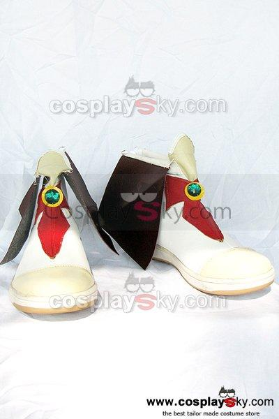 Laughter Land Cosplay Boots White and Black