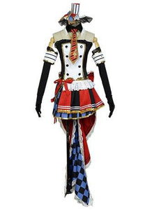 LoveLive! Maki Nishikino Cafe Maid Uniform Cosplay Costume