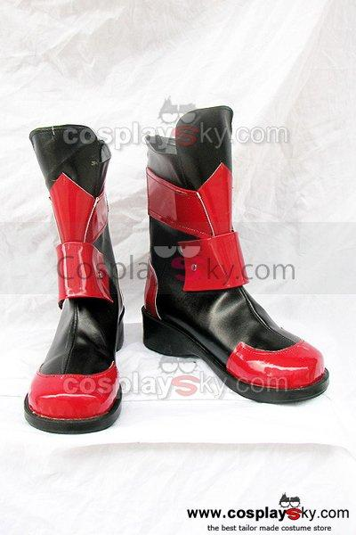 Magical Girl Lyrical Nanoha A's Vita Cosplay Boots