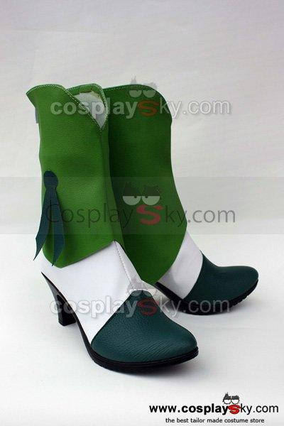 Smile Precure! Pretty Cure Nao Midorikawa Cure March Cosplay Shoes Boots