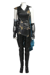 Thor Ragnarok Valkyrie Costume Whole Set Female Halloween Cosplay Outfit