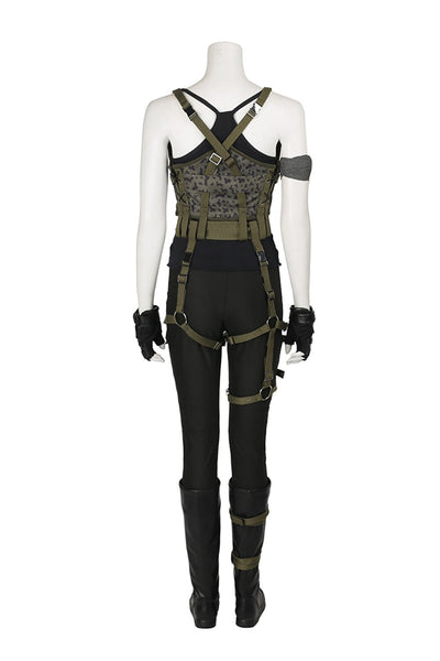 Resident Evil 6: The Final Chapter Alice Outfit Cosplay Costume