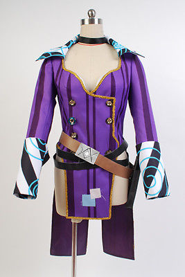 Borderlands 2 Mad Moxxi Purple Uniform Cosplay Costume