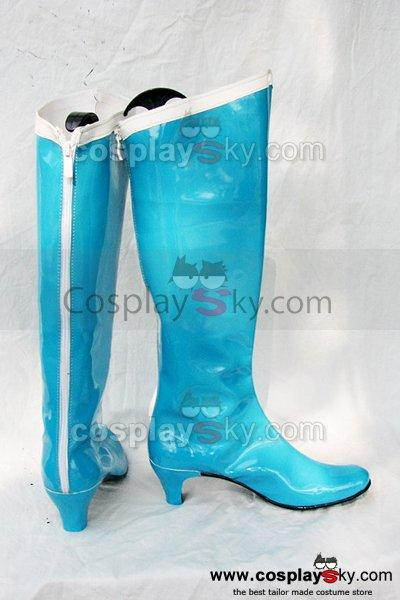 Sailor Moon Mizuno Ami Cosplay Boots Shoes Custom Made