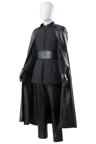Star Wars 8 The Last Jedi Kylo Ren Outfit Ver.2 Cosplay Costume