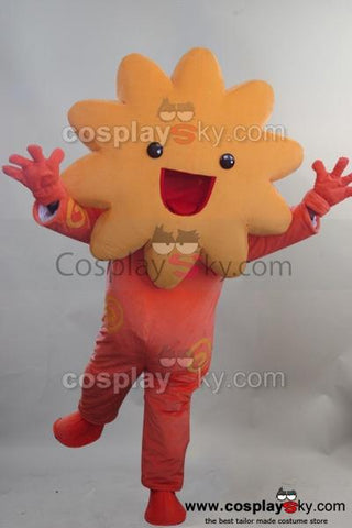 Sunflower Star Mascot Cosplay Costume Adult Size