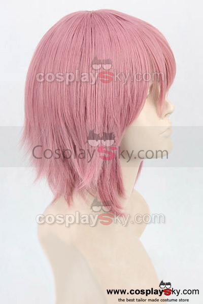 Sword Art Online Leprechaun Cosplay Pink Short Straight Wig New