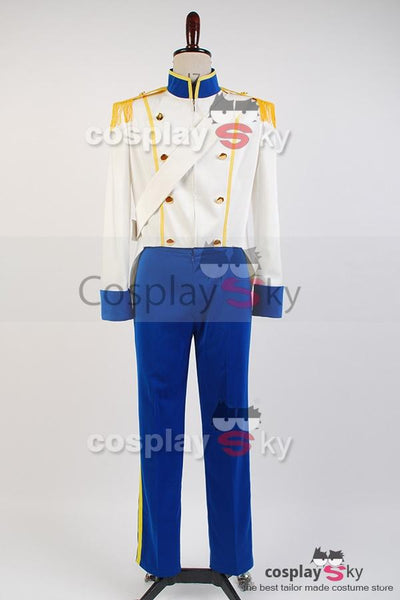 The Little Mermaid 1989 Prince Eric Uniform Cosplay Costume