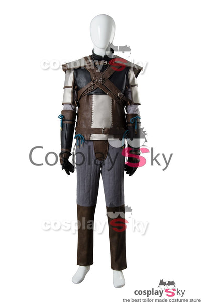 The Witcher 3 Wild Hunt Geralt of Rivia Outfit Cosplay Costume