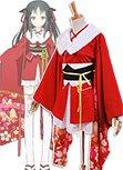 Unbreakable Machine-Doll Yaya Sakura Kimono Costume Cosplay