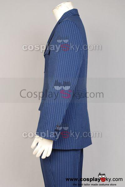 Who Will be Doctor Dr Blue Suit Blazer Pants Costume