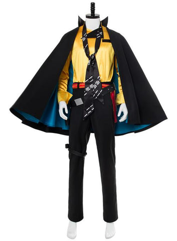 Solo: A Star Wars Story Lando Calrissian Outfit Cosplay Costume