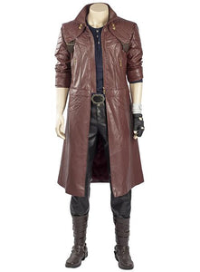 Devil May Cry 5 Dante Outfit Trenchcoat Cosplay Costume Whole Set