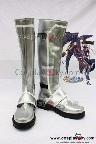 Ys6 Ernst Cosplay Boots Shoes Silver