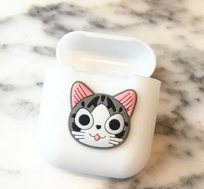 Cartoon Soft Silicone Case For Apple Airpods Shockproof