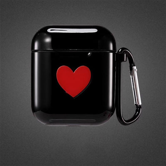 Cover For AirPods heart cases