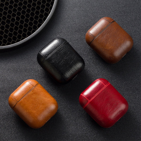 Leather Case for Apple AirPods Air Pods