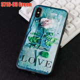 Rose Case Soft Silicone Fitted Mobile Phone Covers Accessories
